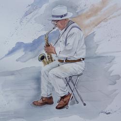 musicien du port