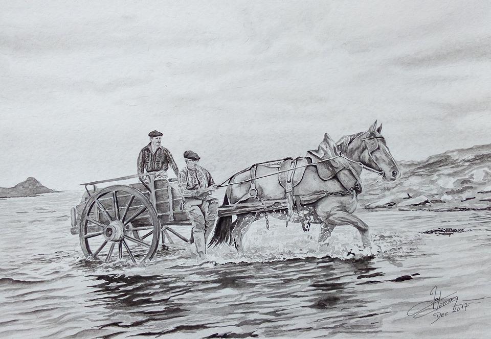 goemoniers à cheval