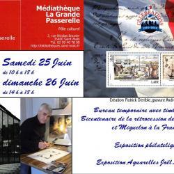 affiche expo 25 26 juin 3 St MALO