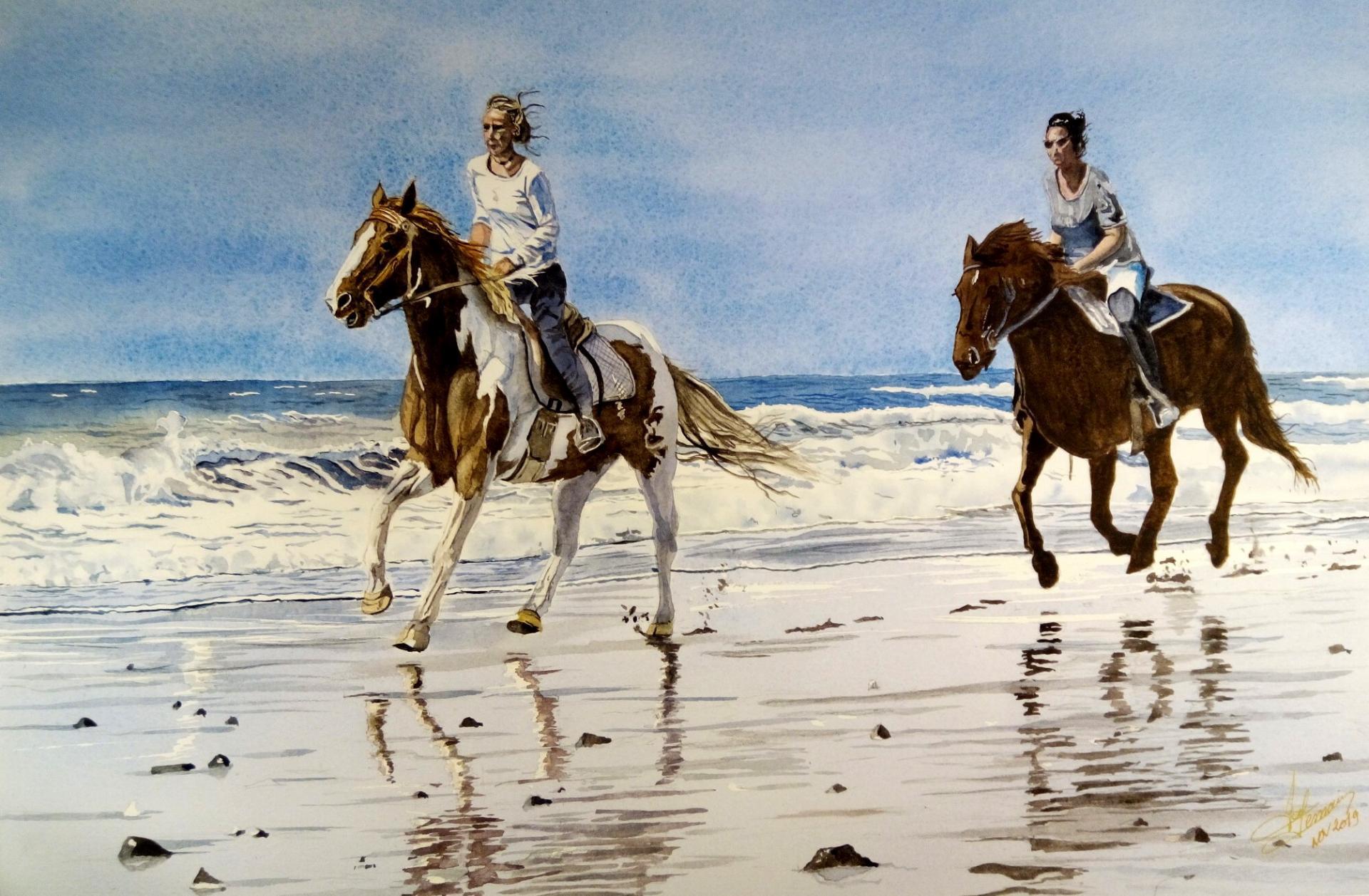 cavalières sur dune