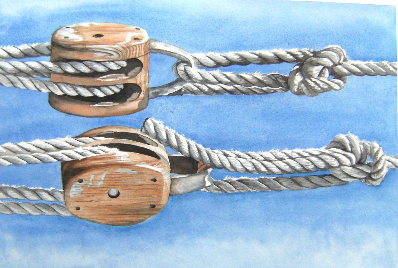 les deux faces du noeud de chaise