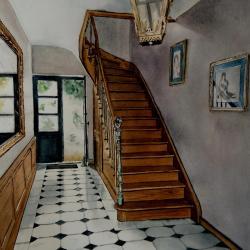 escalier Nieul