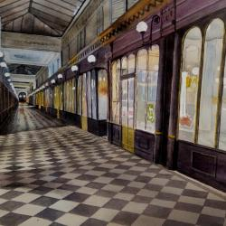 galerie paris , rue de la poissonnerie 9ème