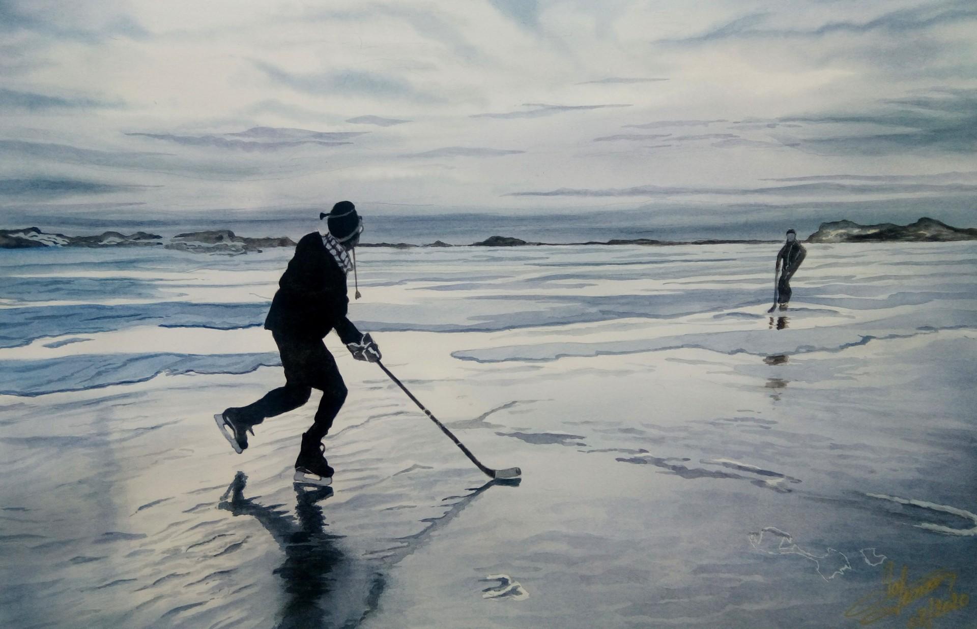 Hockey sur etang aquar 2