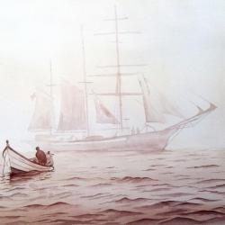Doris ''entre terre et mer
