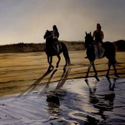 deux cavalières à Langlade