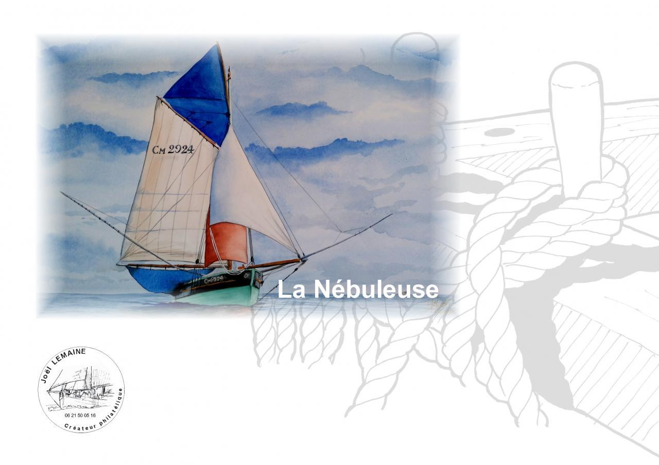 Plaquette laNébuleuse timbre 2017