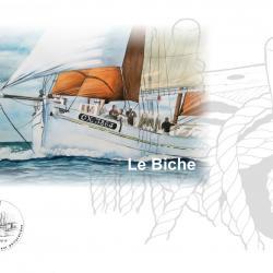 Plaquette le biche timbre 2017