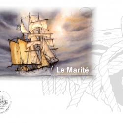 Plaquette le marité timbre 2017