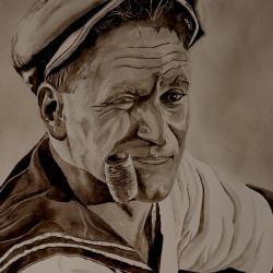 Popeye peinture 1