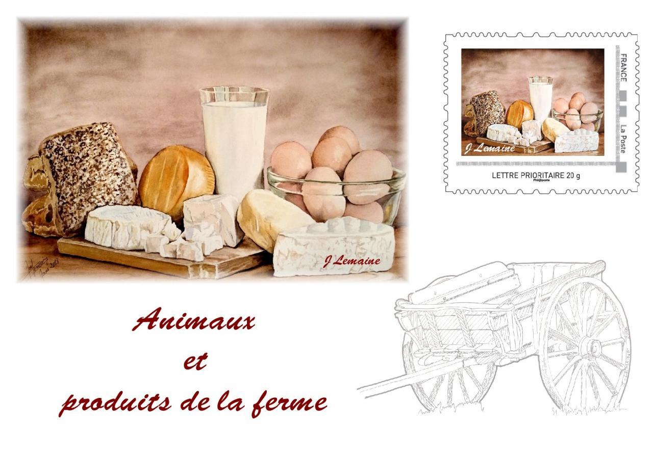 produits ferme philatelie CARTE1 avec TAM