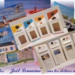 """4 peintures à vendre  de la collection """"Délices de Breizh"""""""