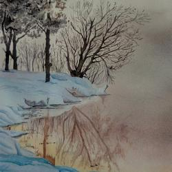 rivière sous neige sig