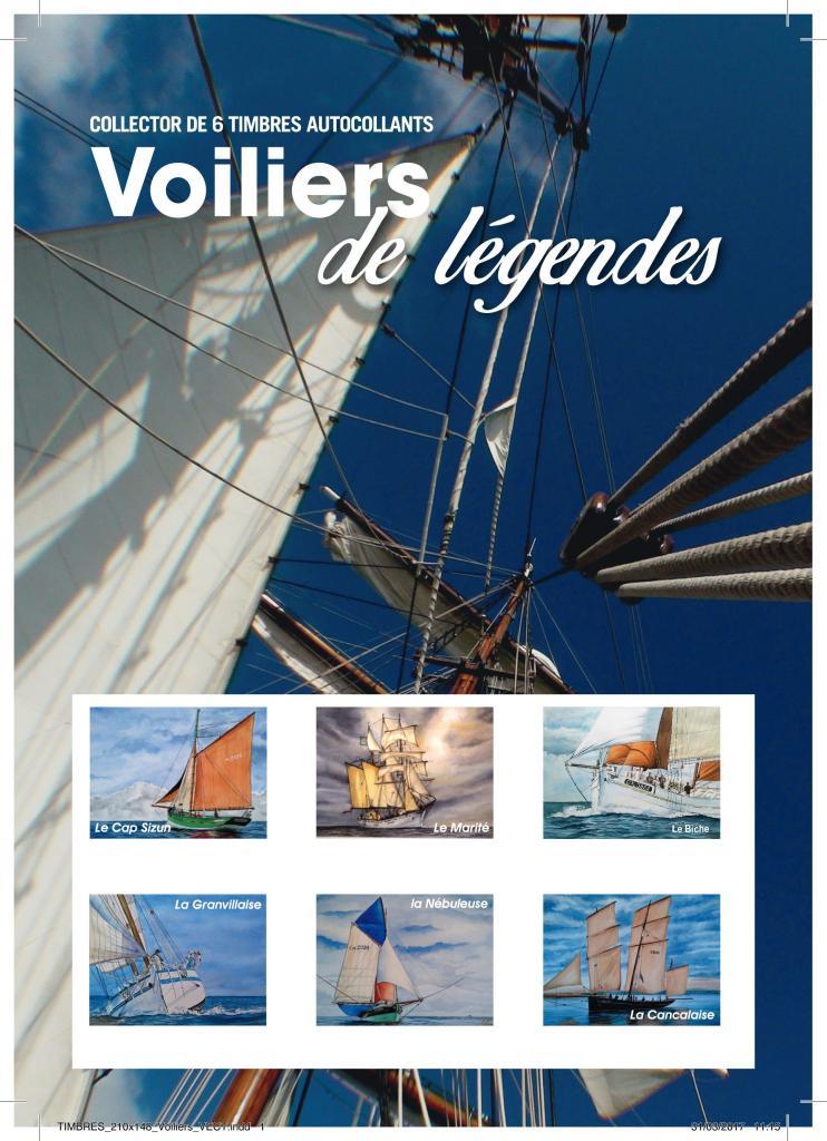 collector Voiliers de Légendes 2017