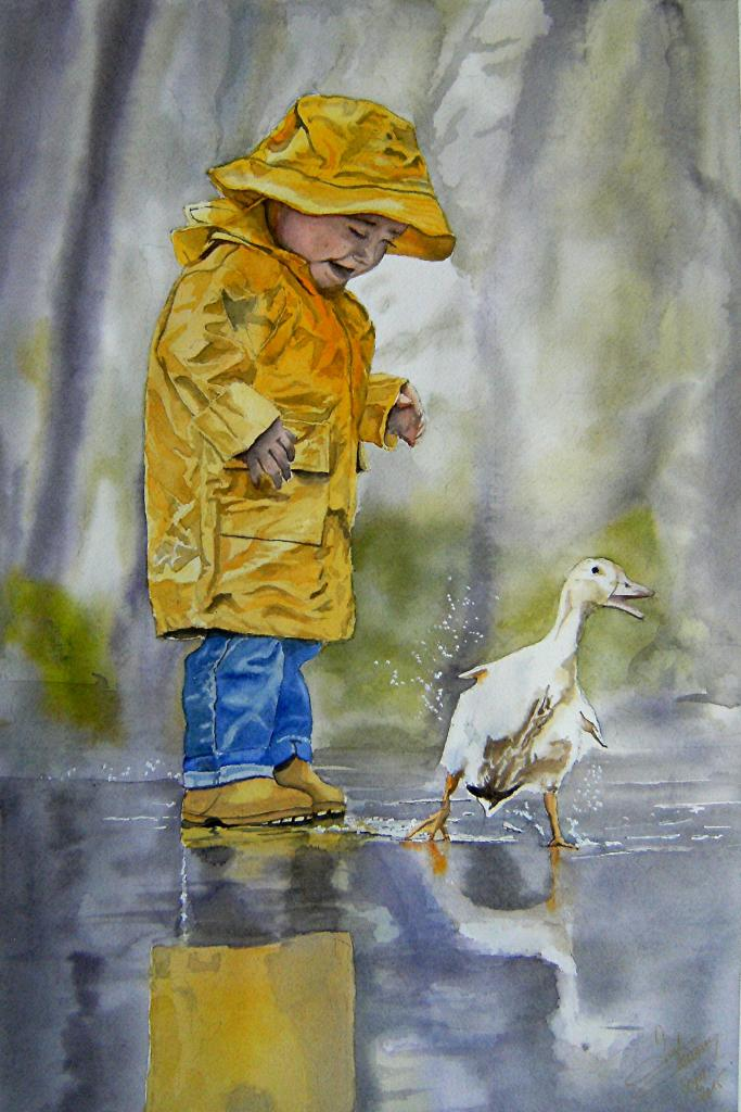 un froid de canard