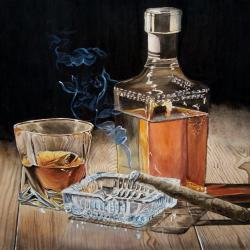 whisky cigare